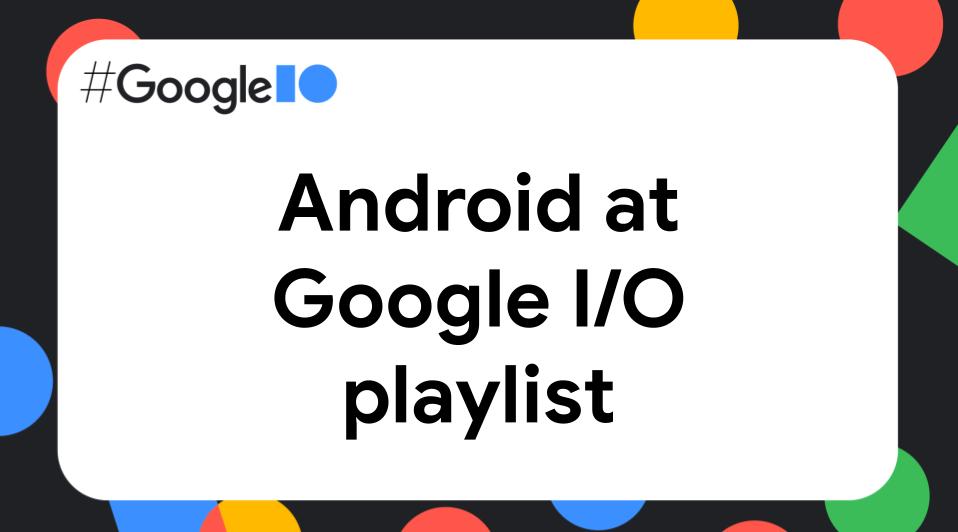 Android Google I/O thumbnail