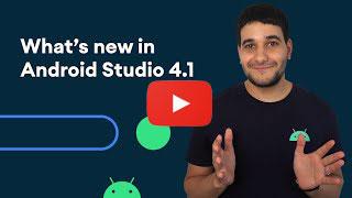 Android Studio 4.1 YouTube thumbnail