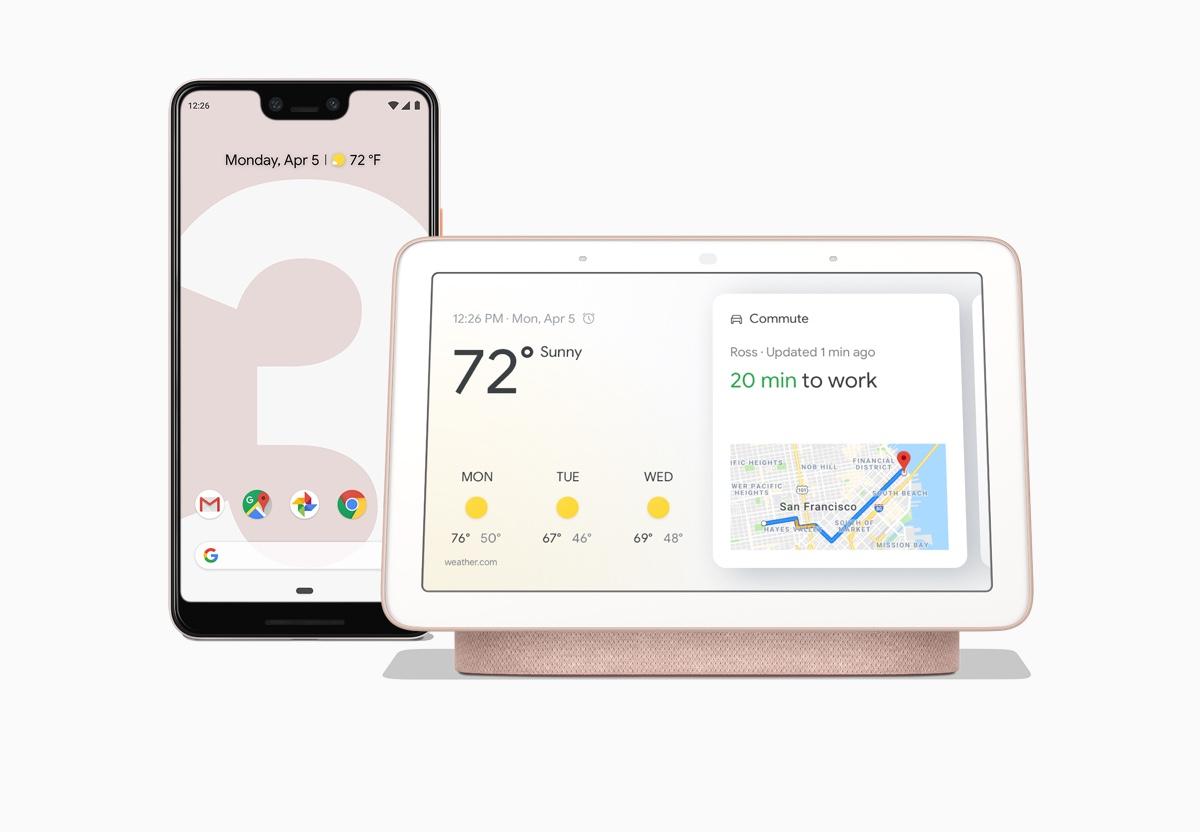 Pixel 3 & Google Home Hub