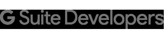 G Suite Developers