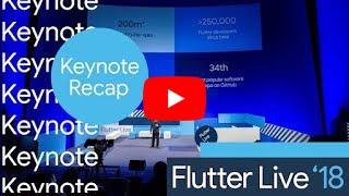 Flutter Live recap