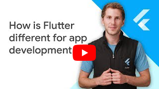 Ever been asked how Flutter is different for app development?