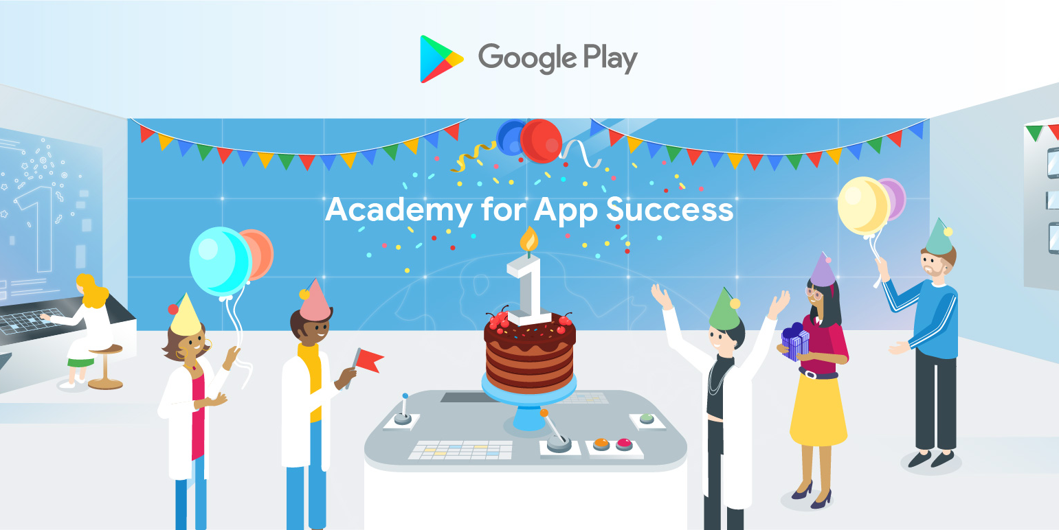 Celebrating 1 year of the Academy for App Success