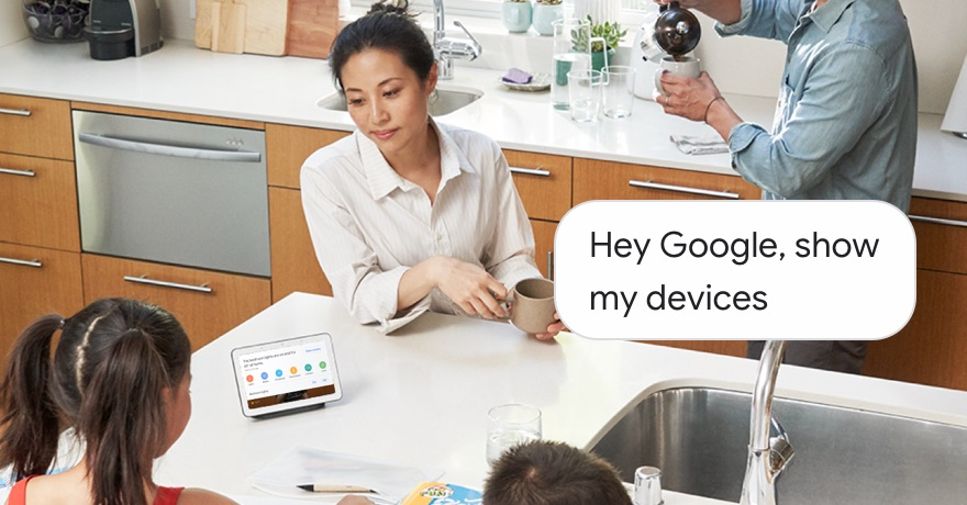 Hey Google, show my devices