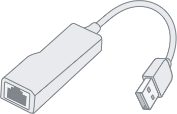 Example of Ethernet adapter