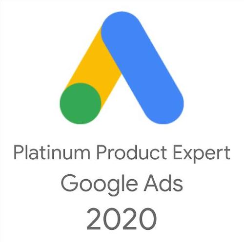 Gold Product Expert Google Ads 2020