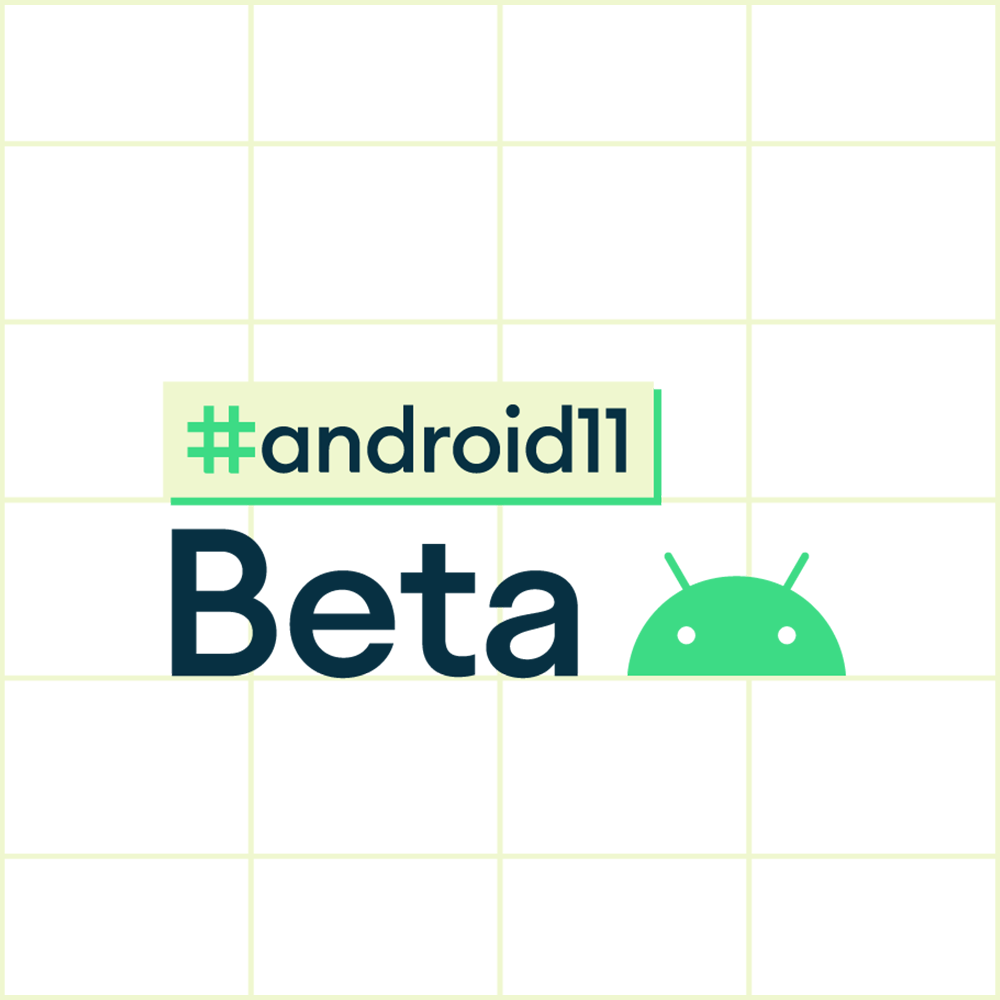 Android 11 beta logo