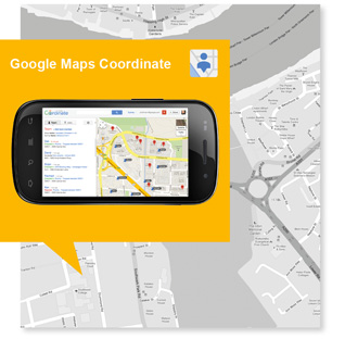 Google Maps Coordinate