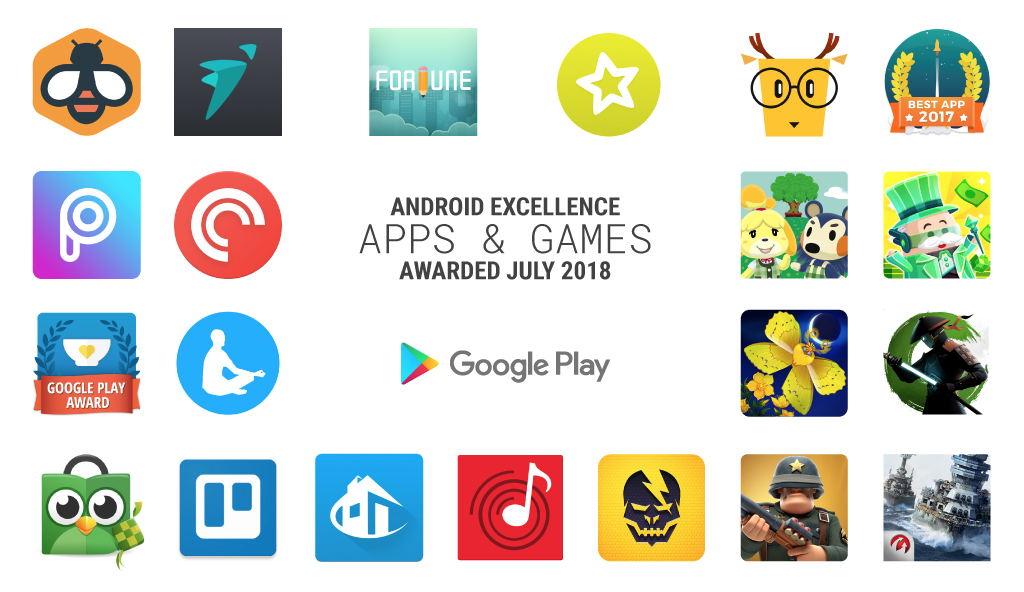 New Android excellence collections