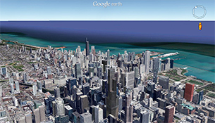 Google Earth - Magazine cover